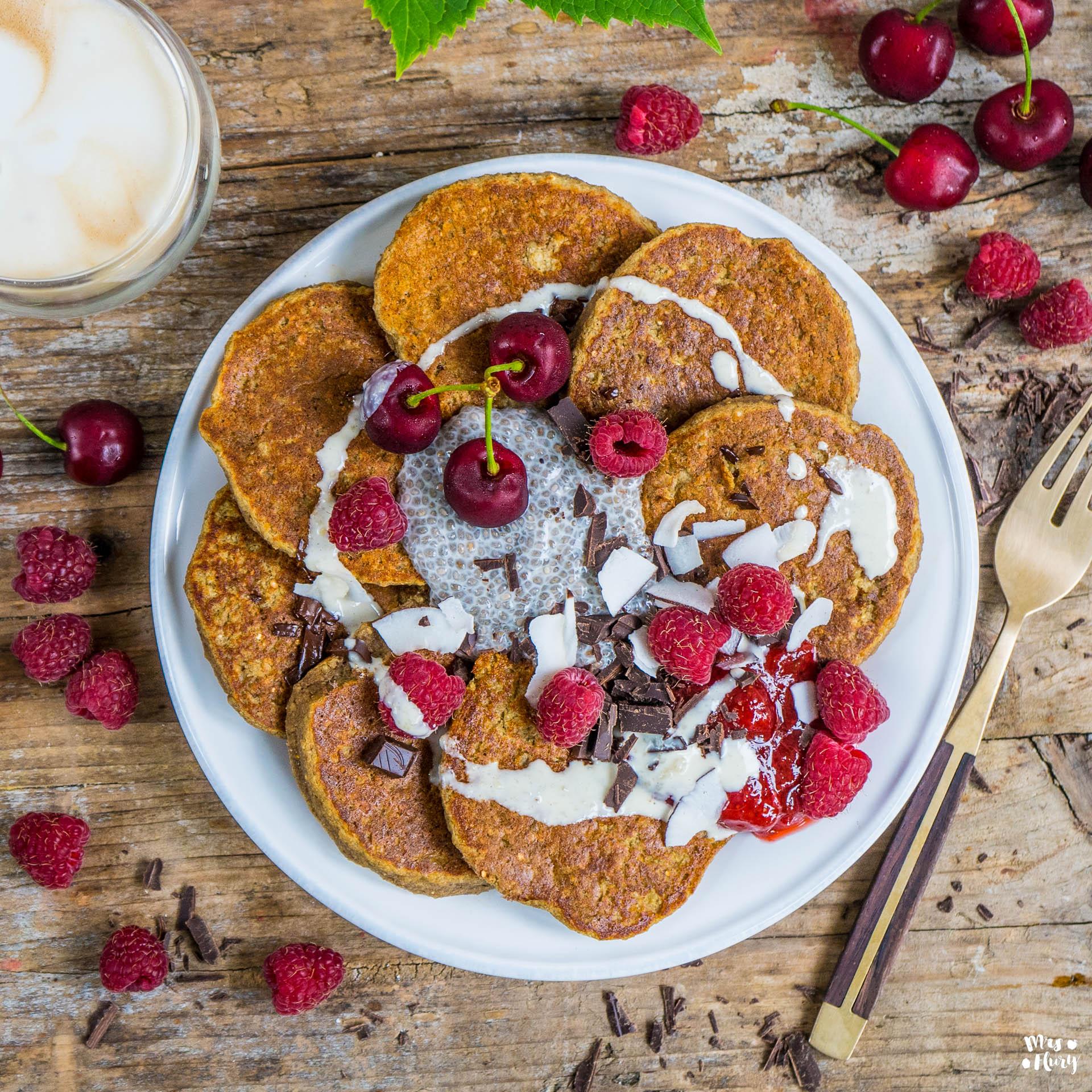 Quinoa Protein Pancakes vegan