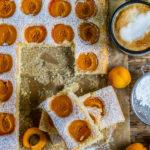 Veganer Aprikosenkuchen vom Blech