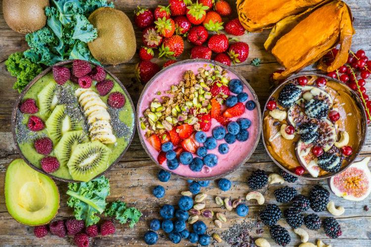 Smoothie Bowls – 3 gesunde Rezepte