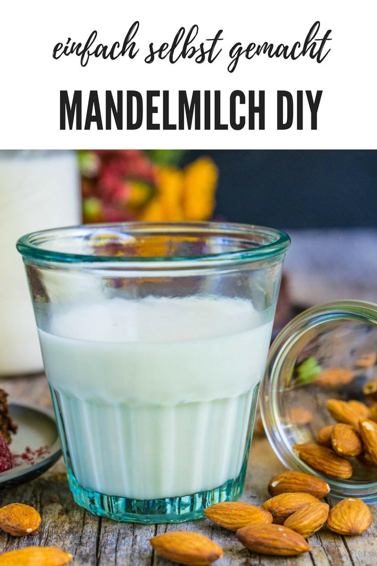 Mandelmilch selber machen - Mrs Flury