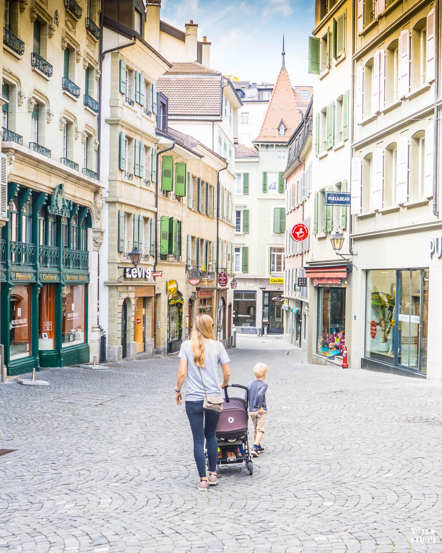 Wochenendtrip nach Lausanne Mrs Flury