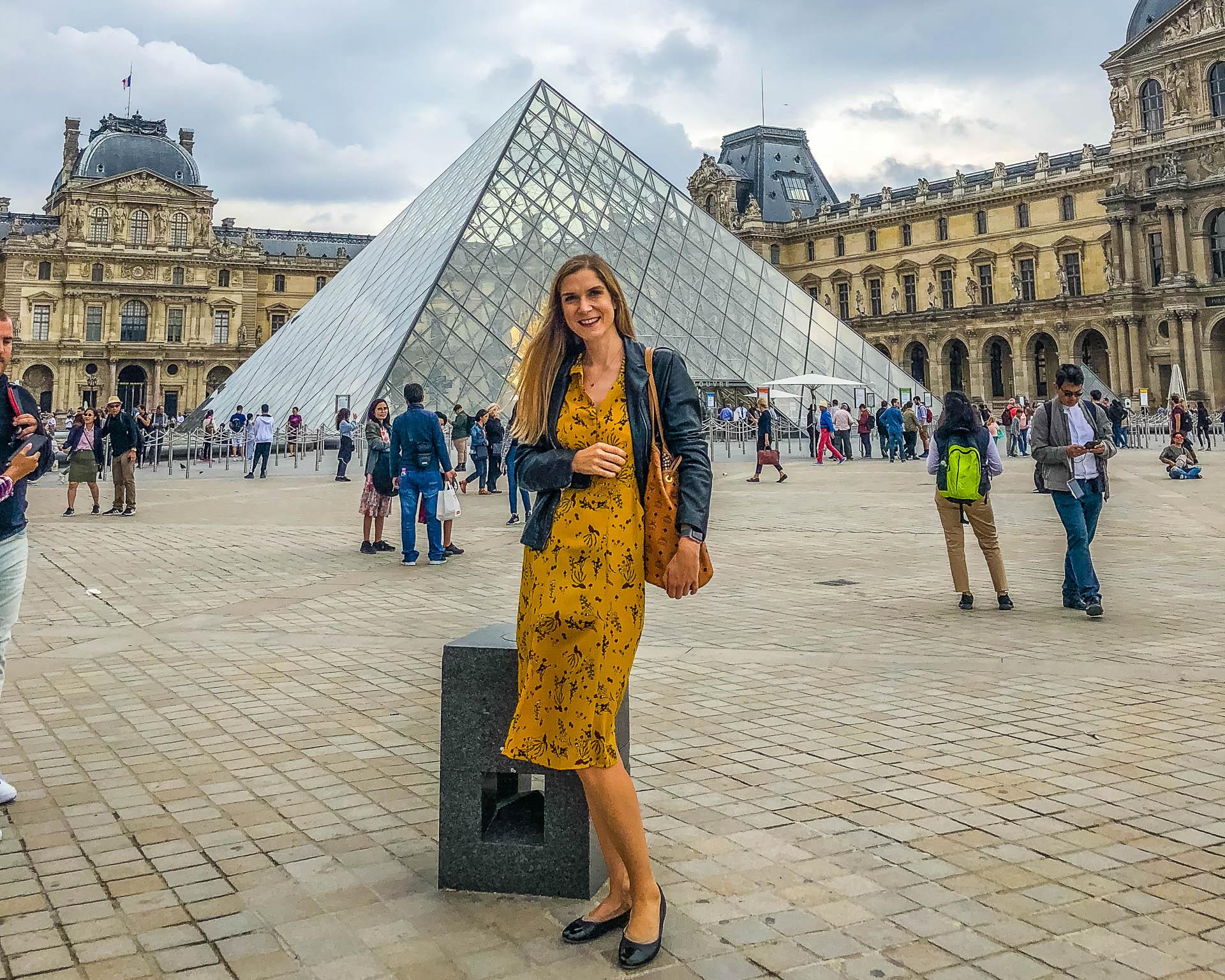 Louvre Paris Mrs Flury