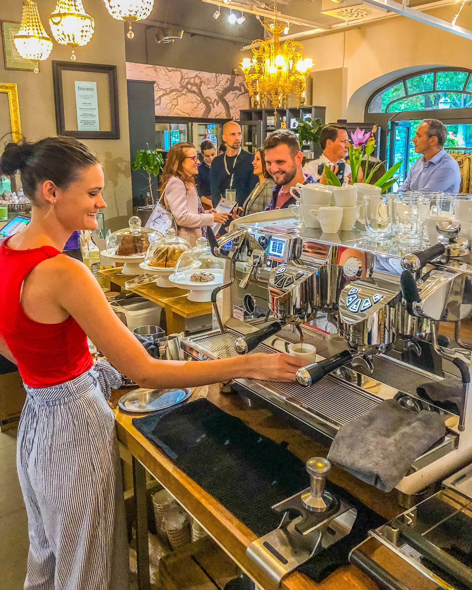 Kaffeerösterei am Prater Wien