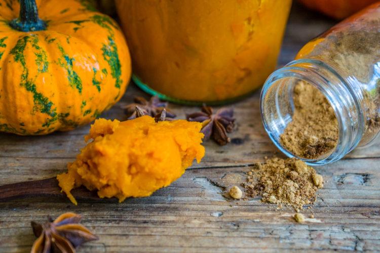 Kürbispüree und Pumpkin Spice selber machen