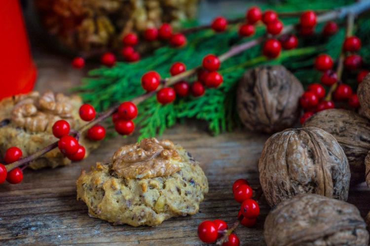 Bananenbrot Kekse / gesunde Cookies vegan