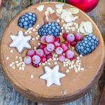 Lebkuchen Smoothie Bowl vegan Mrs Flury