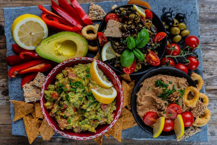 Gesunde Party Dips / vegane Rezepte