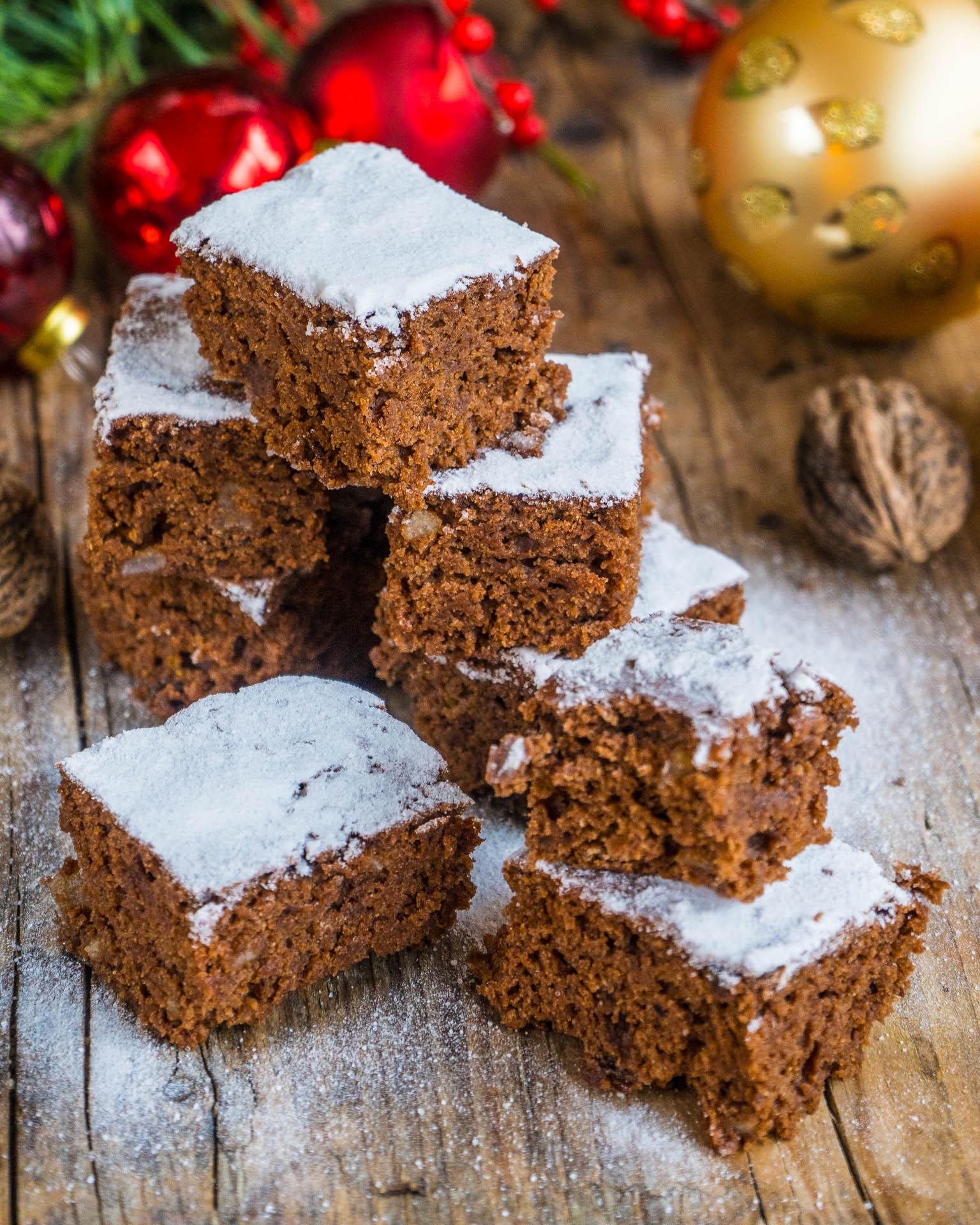 Saftiger Lebkuchen Vom Blech Vegan Mrs Flury Gesund Essen Leben