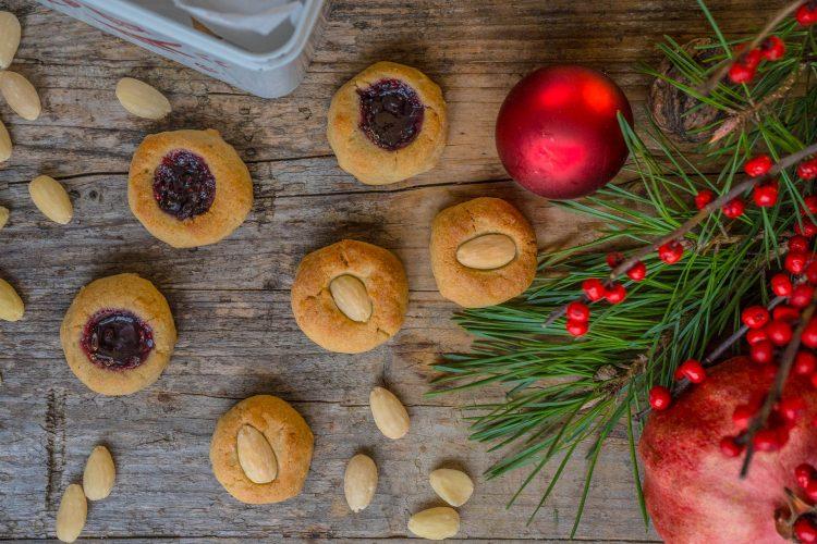 Marzipan Kekse – Feine Vogelnestli vegan