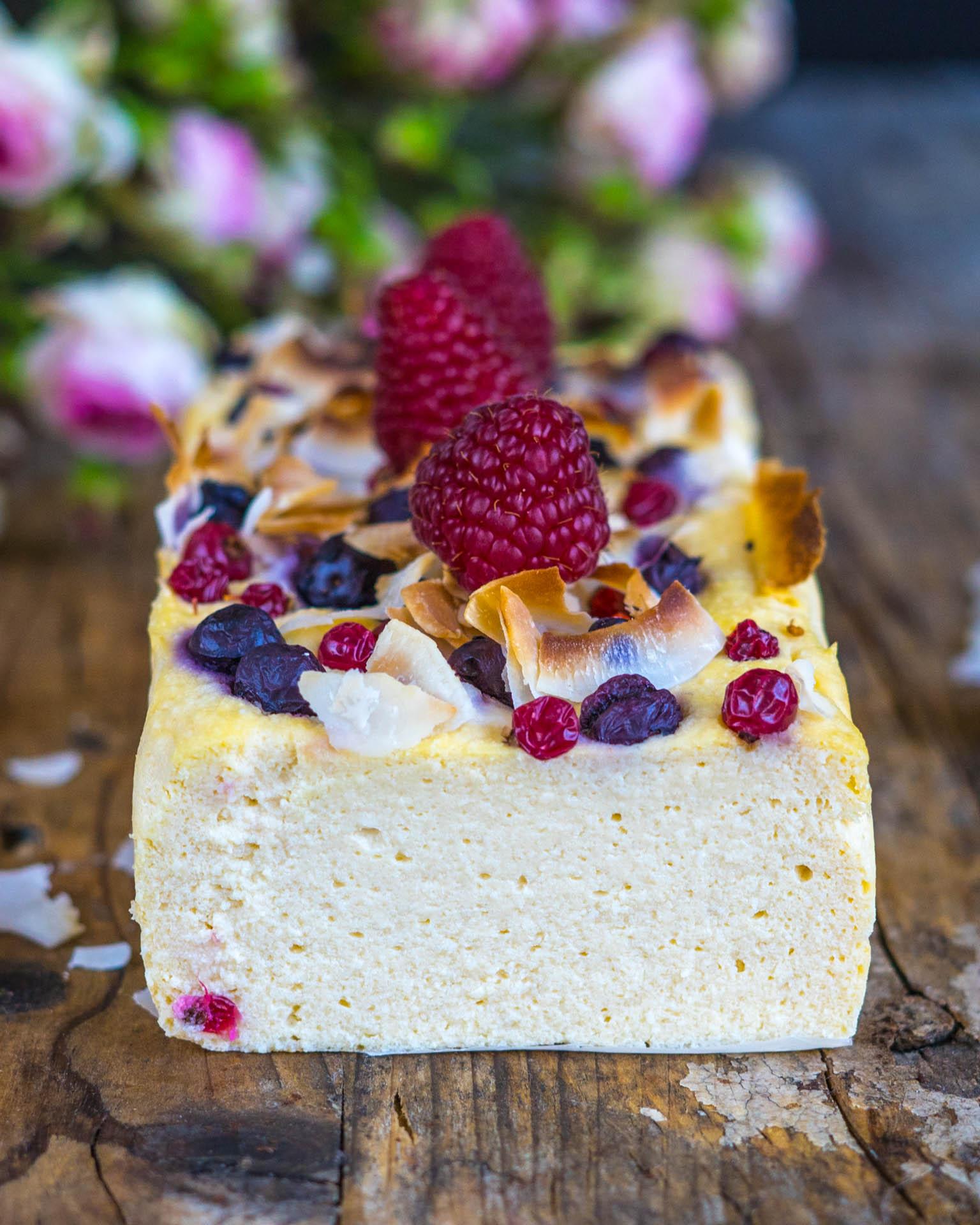 Low Carb Cheesecake Keto geeignet, zuckerfrei Mrs Flury