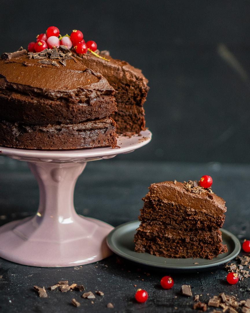 gesunder Paleo Schokoladenkuchen Mrs Flury