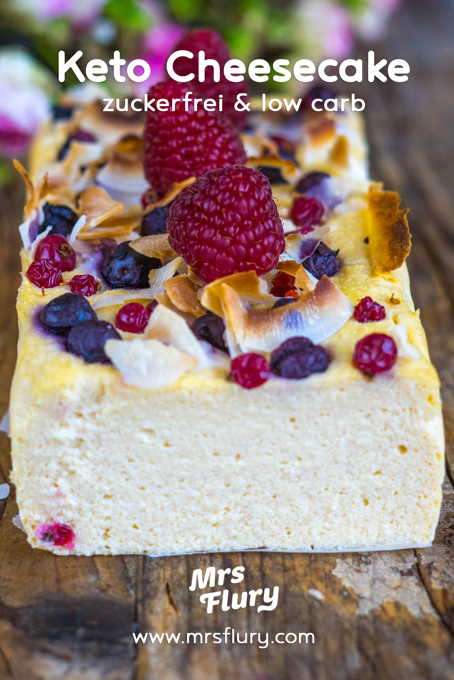 Low Carb Cheesecake zuckerfrei Mrs Flury