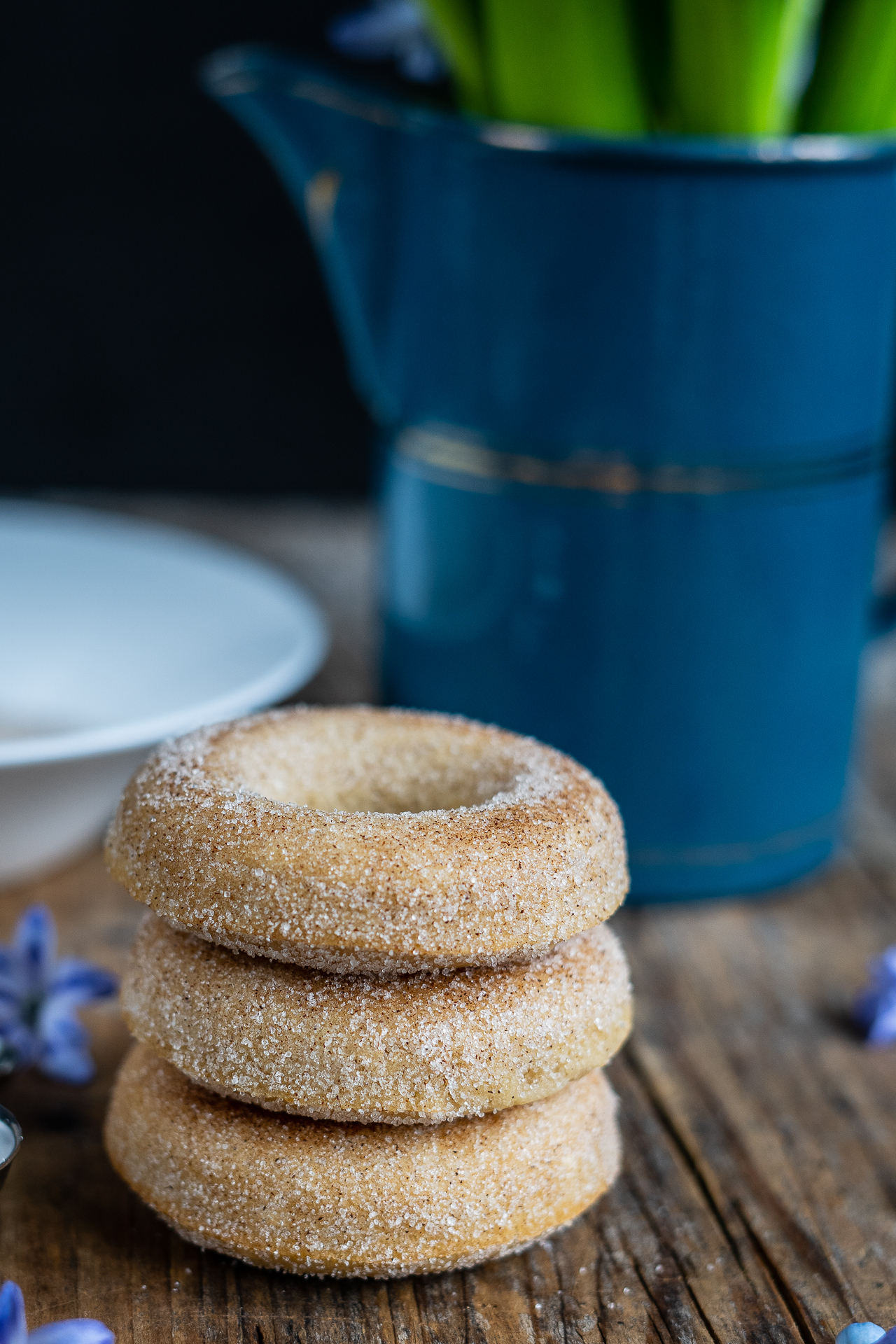 gesunde Donuts ohne Frittieren, vegane Donuts