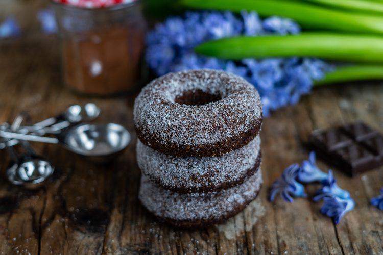 Schoko Paleo Donuts zuckerfrei / low carb