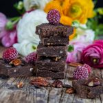 No Bake Keto Brownies vegan Mrs Flury