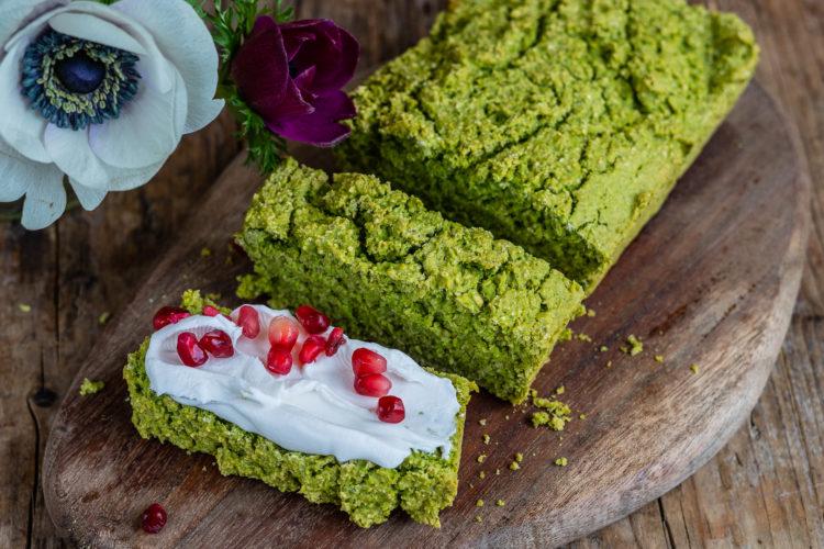 Grünes Proteinbrot – Erbsenbrot mit 5 Zutaten Rezept