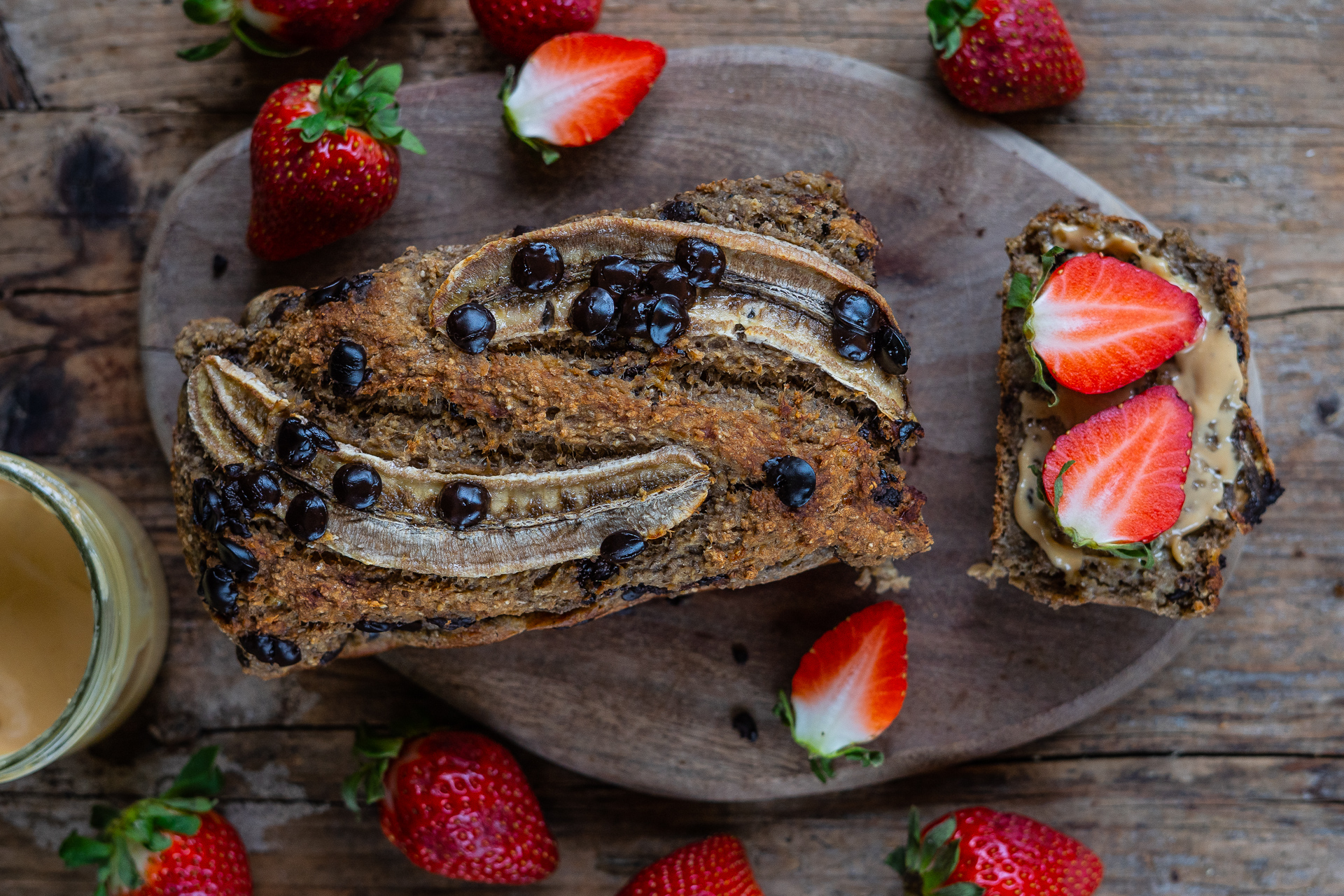 Veganes Bananenbrot ohne Zucker Mrs Flury
