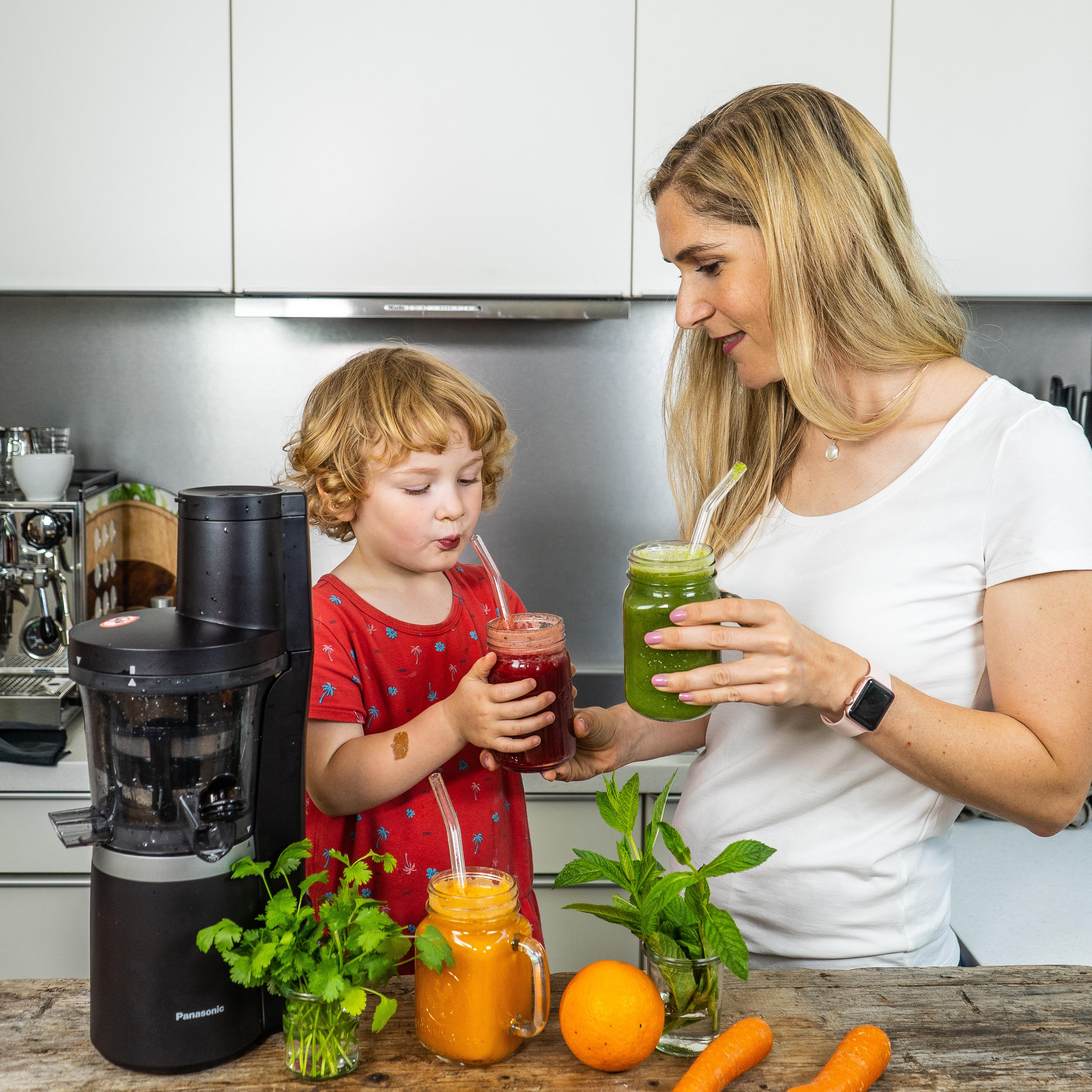 Gesunde Frucht- und Gemüsesäfte Mrs Flury