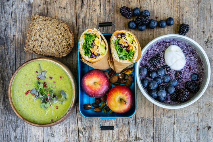 Ernährungsplan für 1 Tag – Gesundes Meal Prep