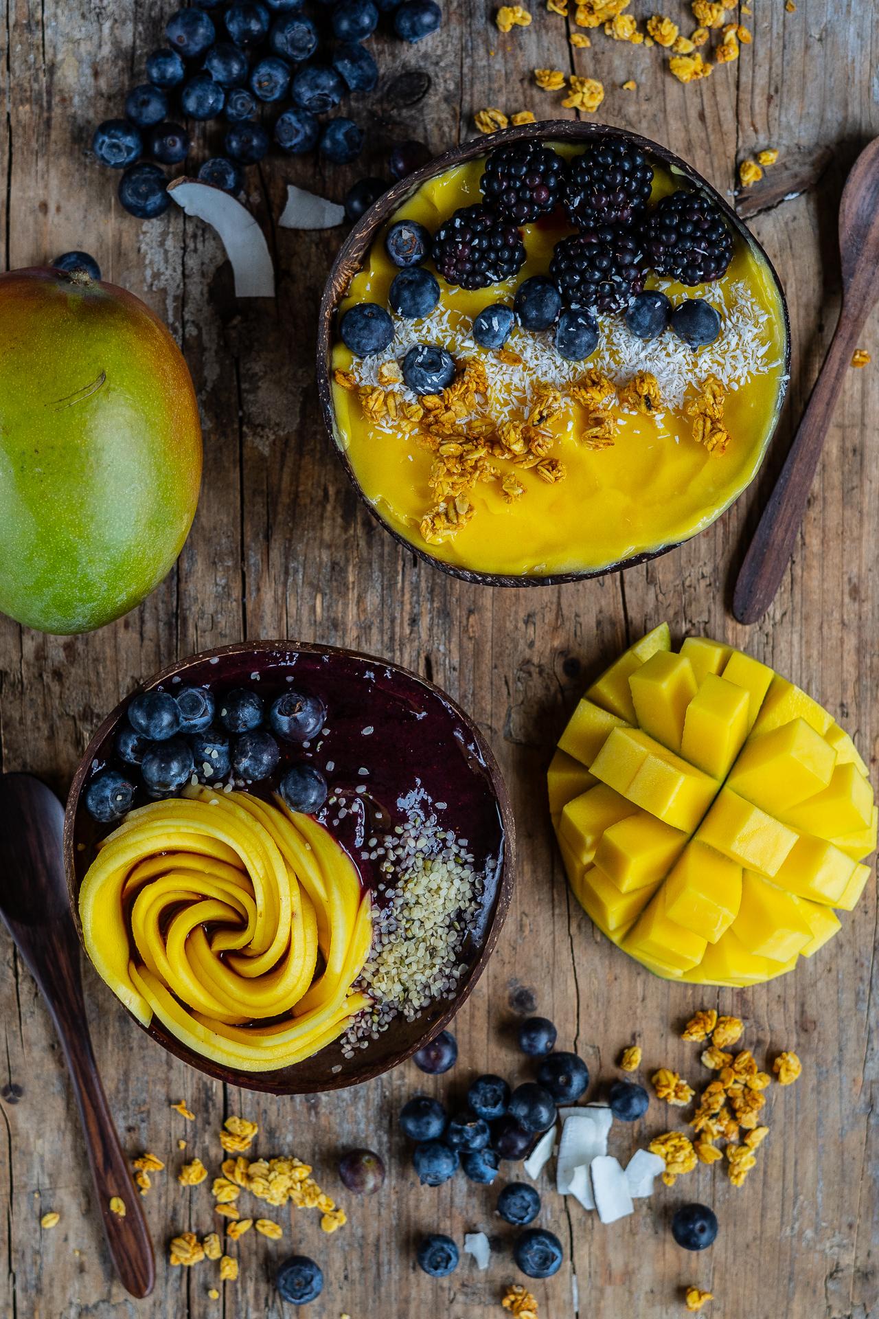 Gesunde Eiscreme 2 Zutaten, zuckerfrei, ohne Banane