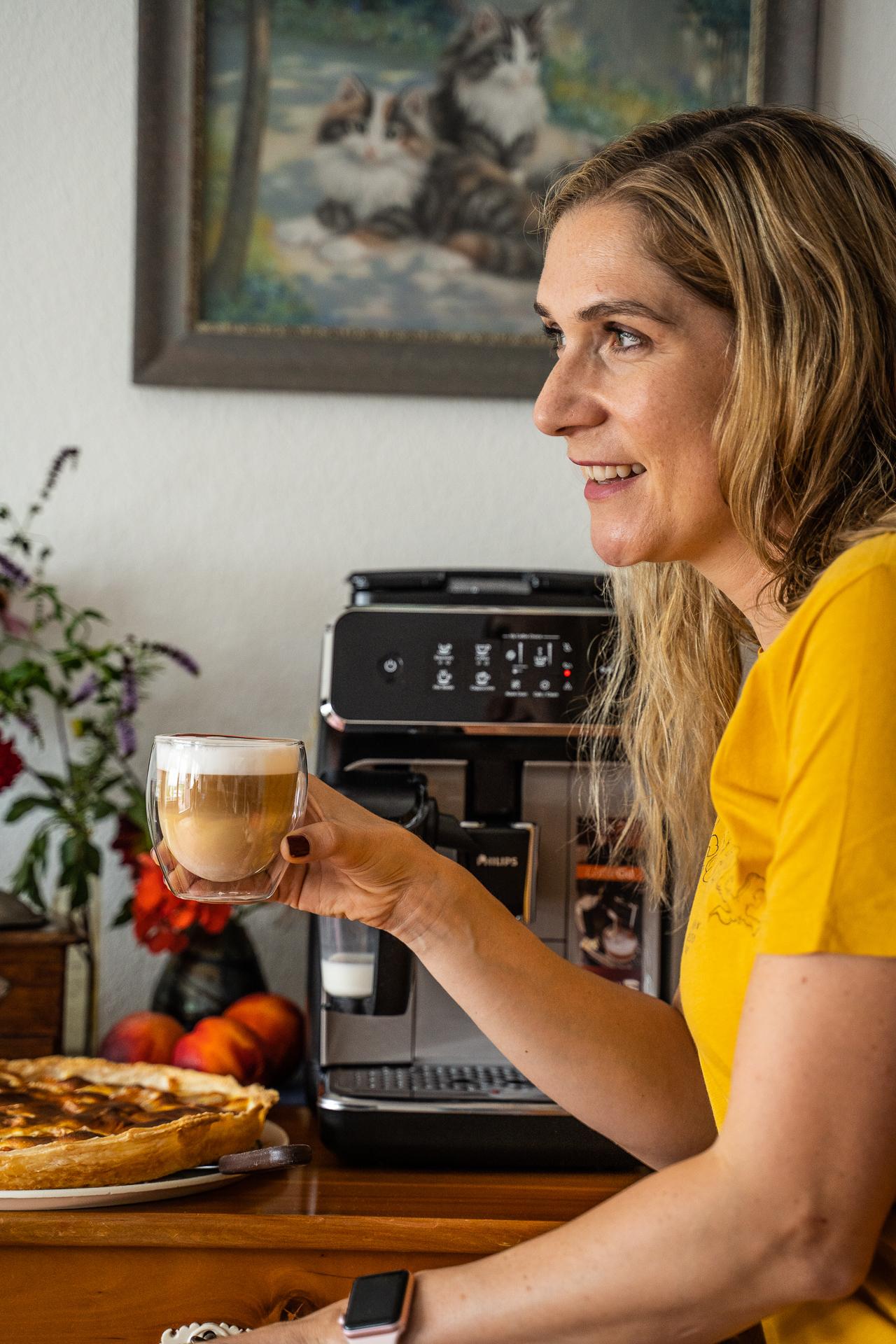 Kaffeezeit bei den Grosseltern Mrs Flury