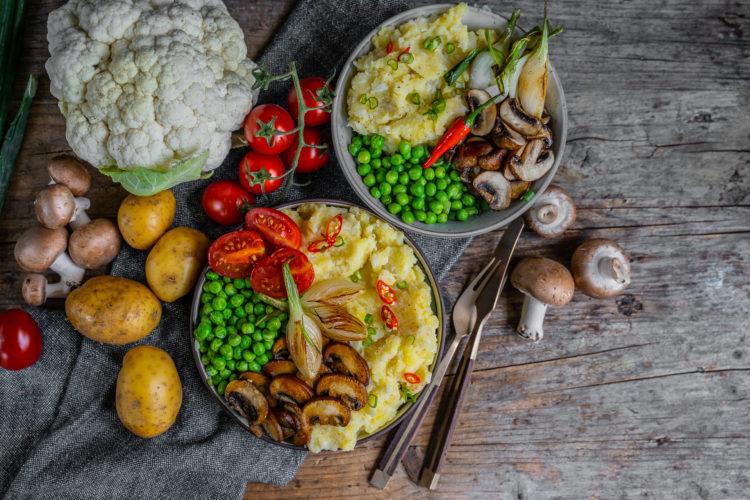 Blumenkohl Kartoffel Püree