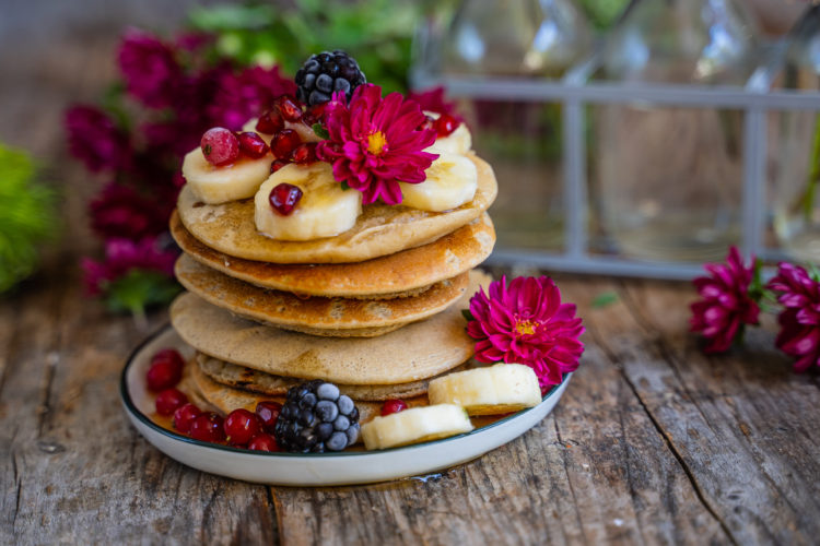 Protein Pancakes vegan – 4 Zutaten Rezept