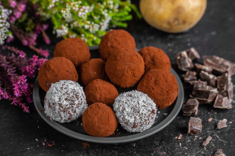 Kartoffel Schoko Trüffel – 2 Zutaten Rezept