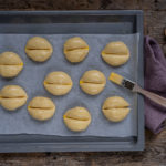 Weggli Rezept vegan backen Mrs Flury