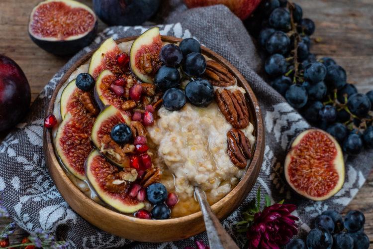 Apfel Zimt Proats – Protein Porridge zum Frühstück