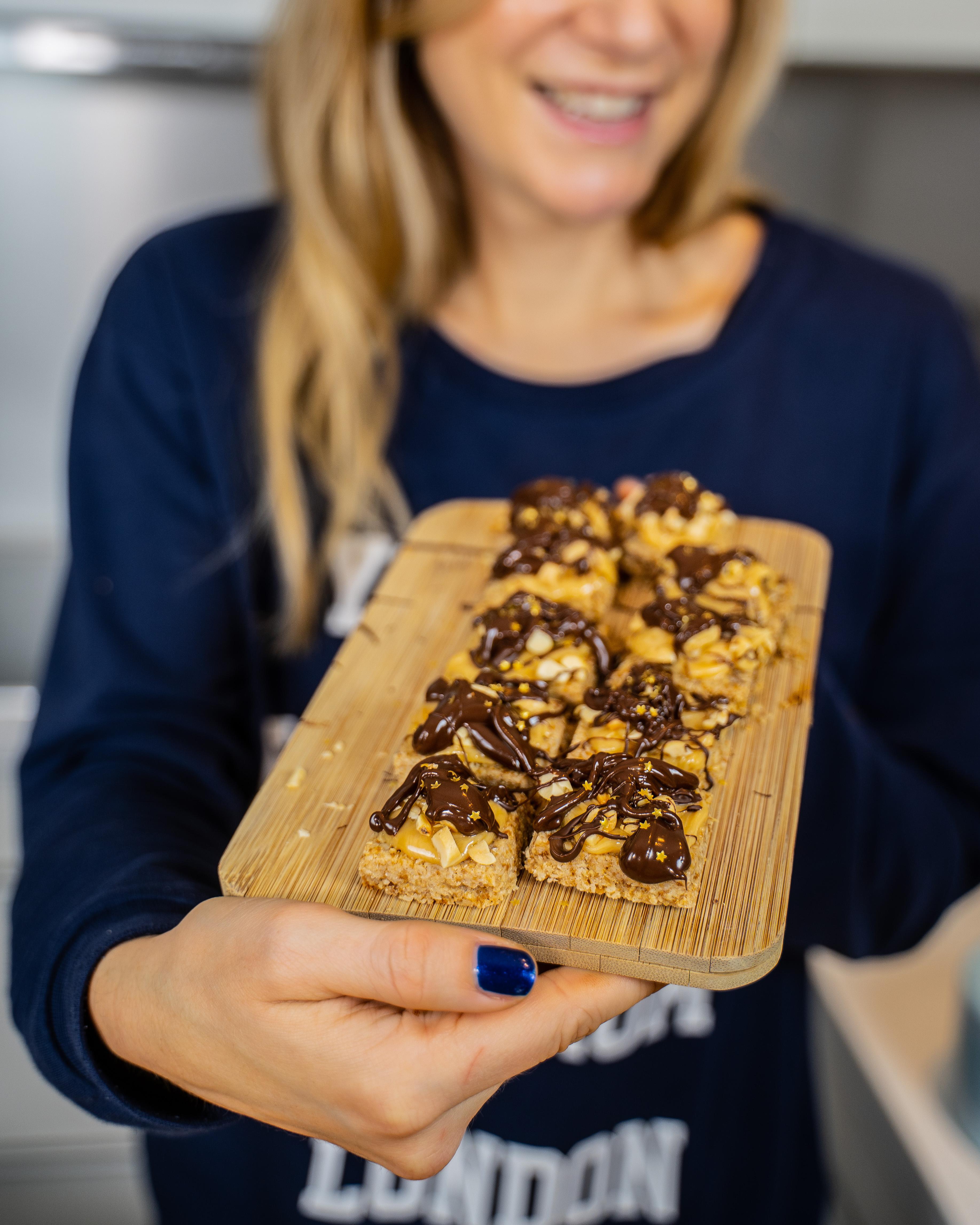 Gesunde Erdnuss-Happen vegan, ohne weissen Zucker Mrs Flury