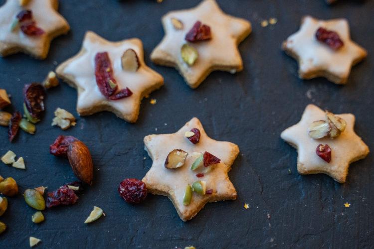 Dinkel Kekse – Gesunde Weihnachtskekse vegan