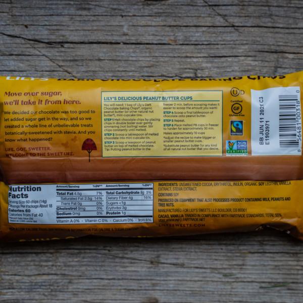 Lilis Schokoladendrops stevia vegan schokochips