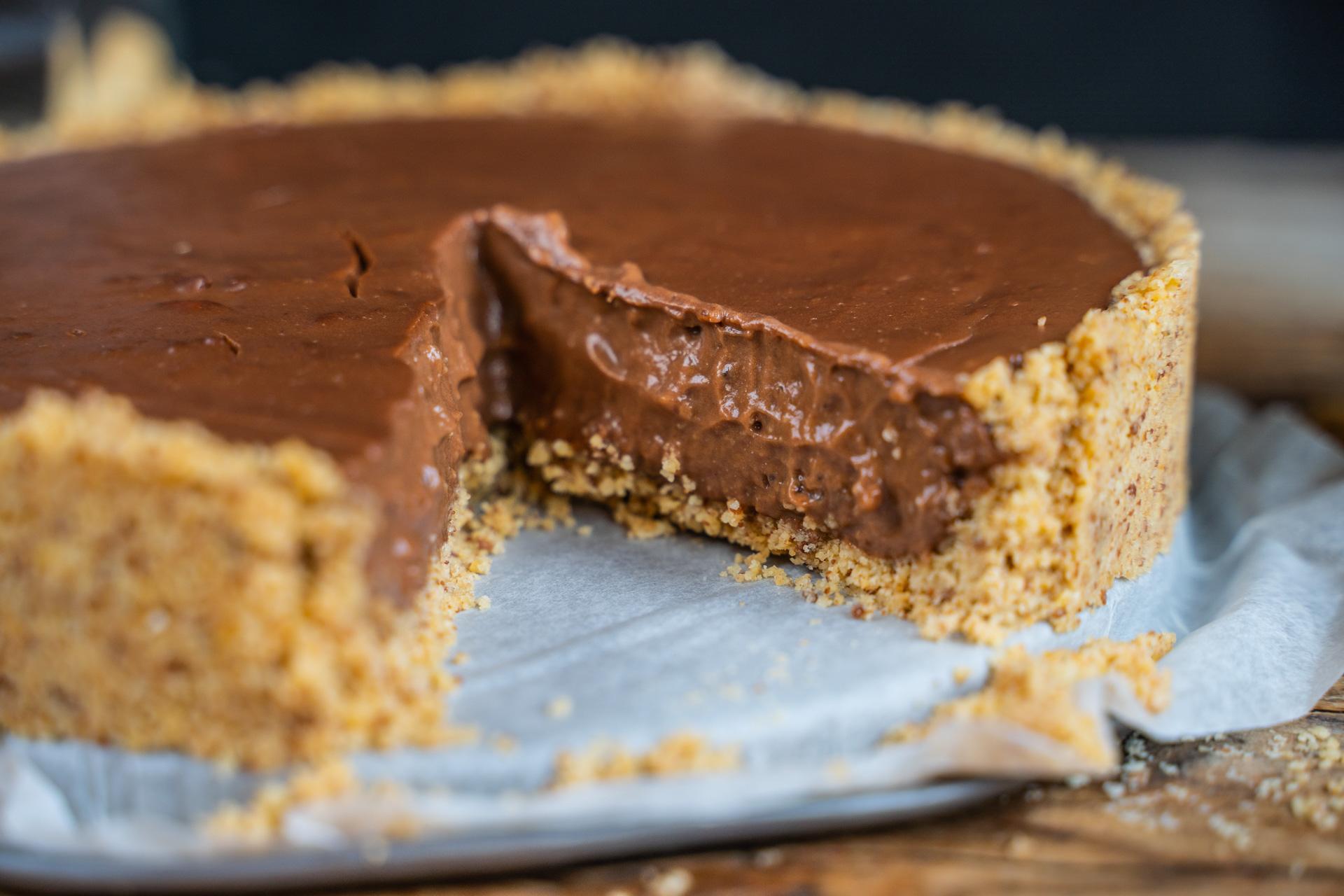 Puddingkuchen vegan, ohne Backen - leckere Resteverwertung Mrs Flury