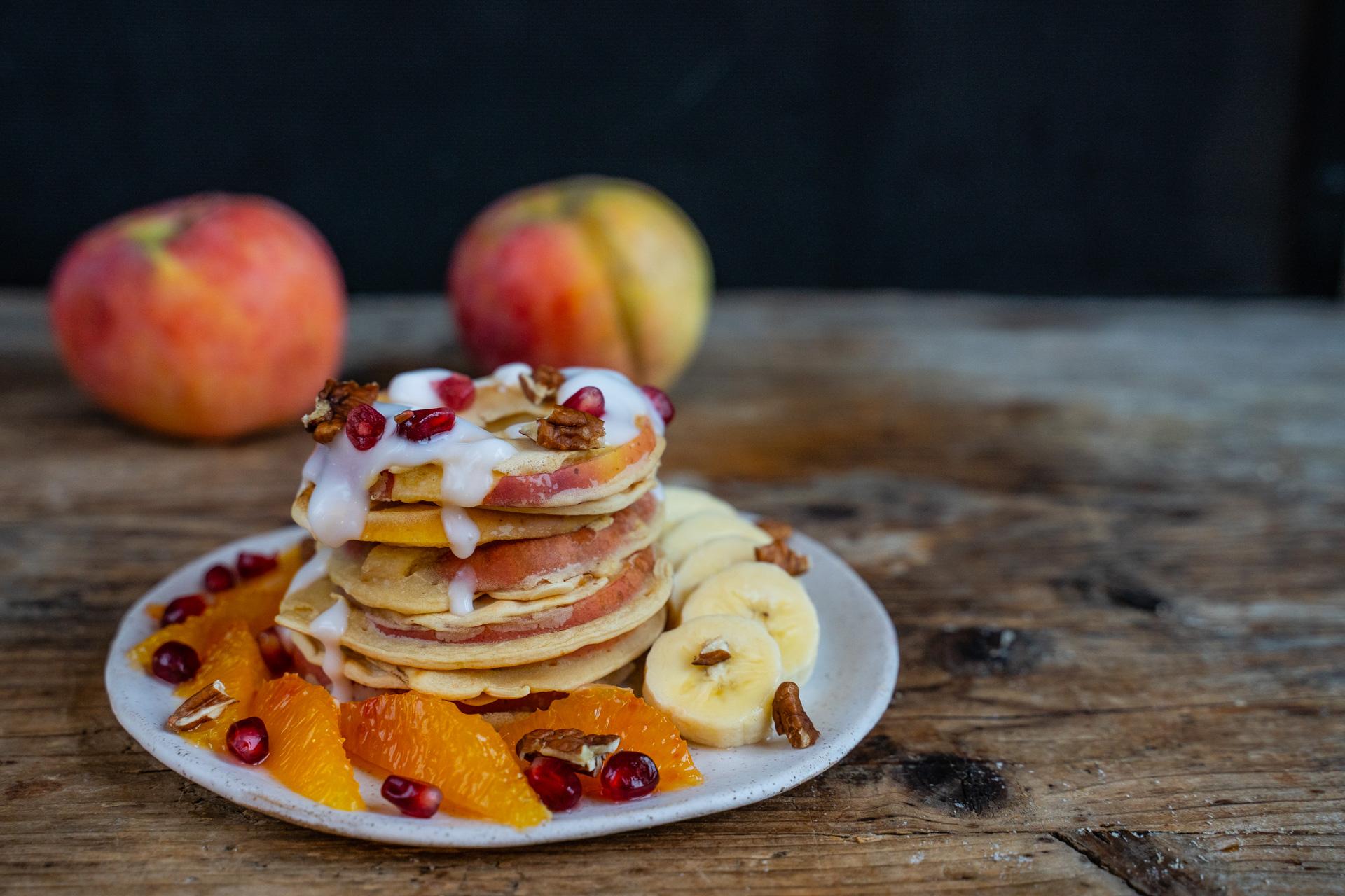 gesunde apfelpfannkuchen vegan rezept öpfelchüechli mrs