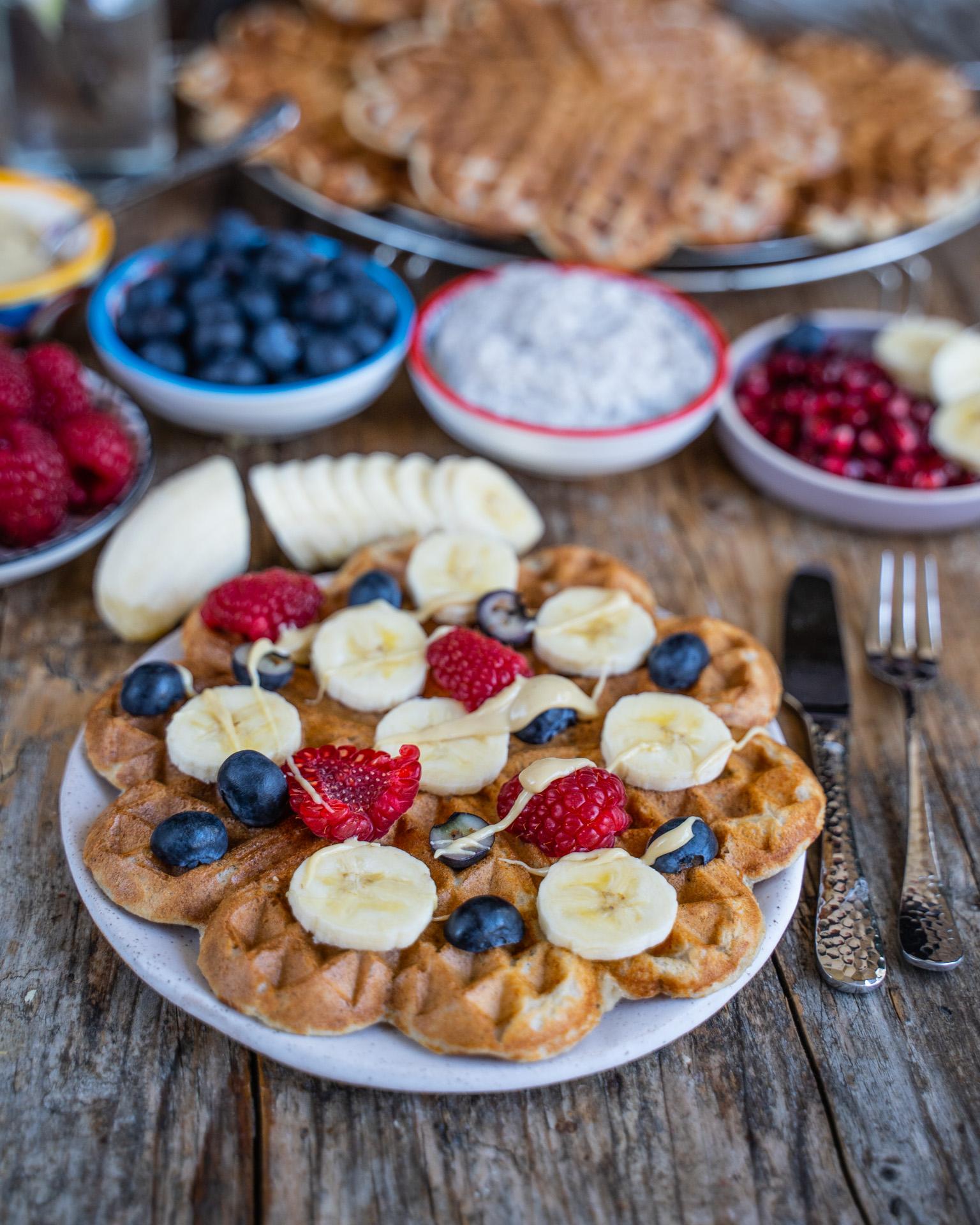 Vegane Protein Waffeln Rezept