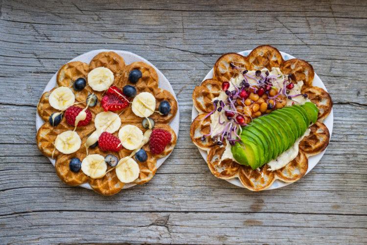 Protein Waffeln vegan – ohne Proteinpulver