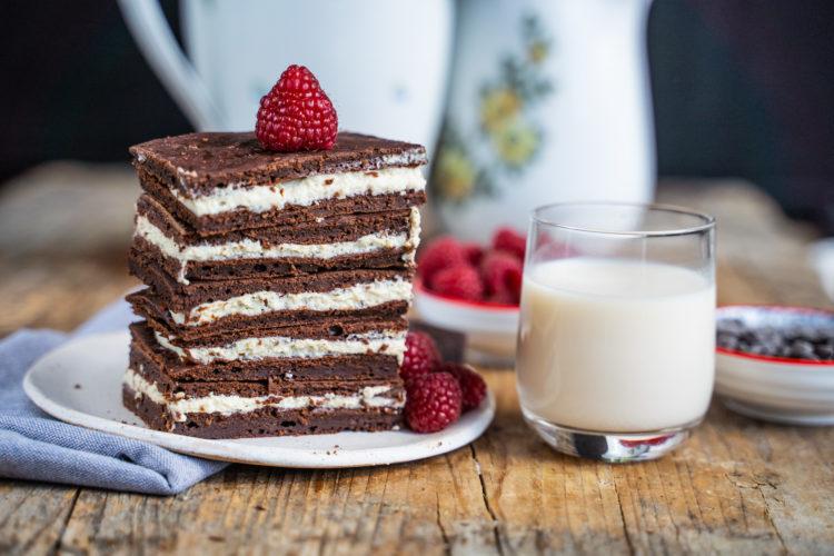 Gesunde Milchschnitte ohne Milch – veganes Rezept