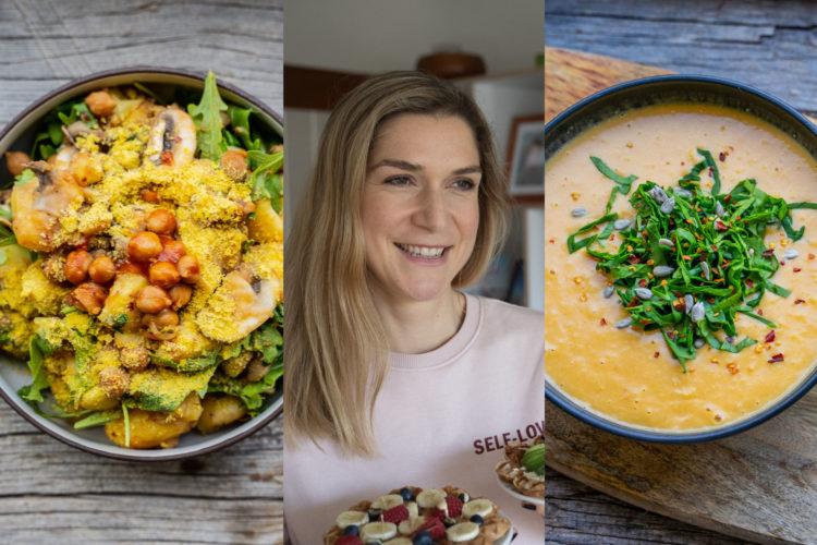 3 gesunde Rezepte: Was ich an einem Tag esse vegan - Mrs Flury