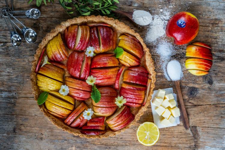 Apfel Tarte – Knusprig und gesund