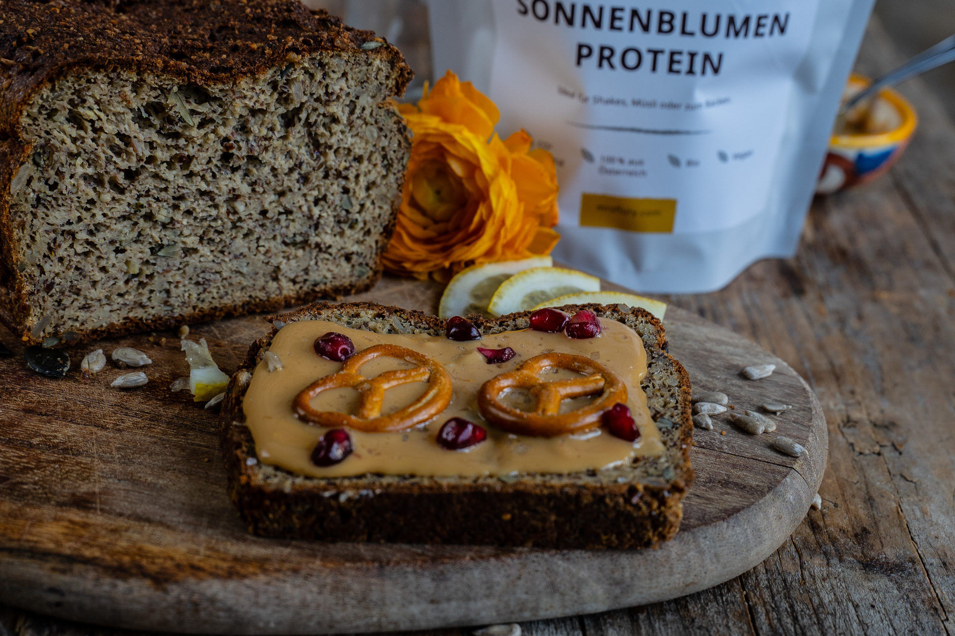 low carb Proteinbrot Mrs Flury