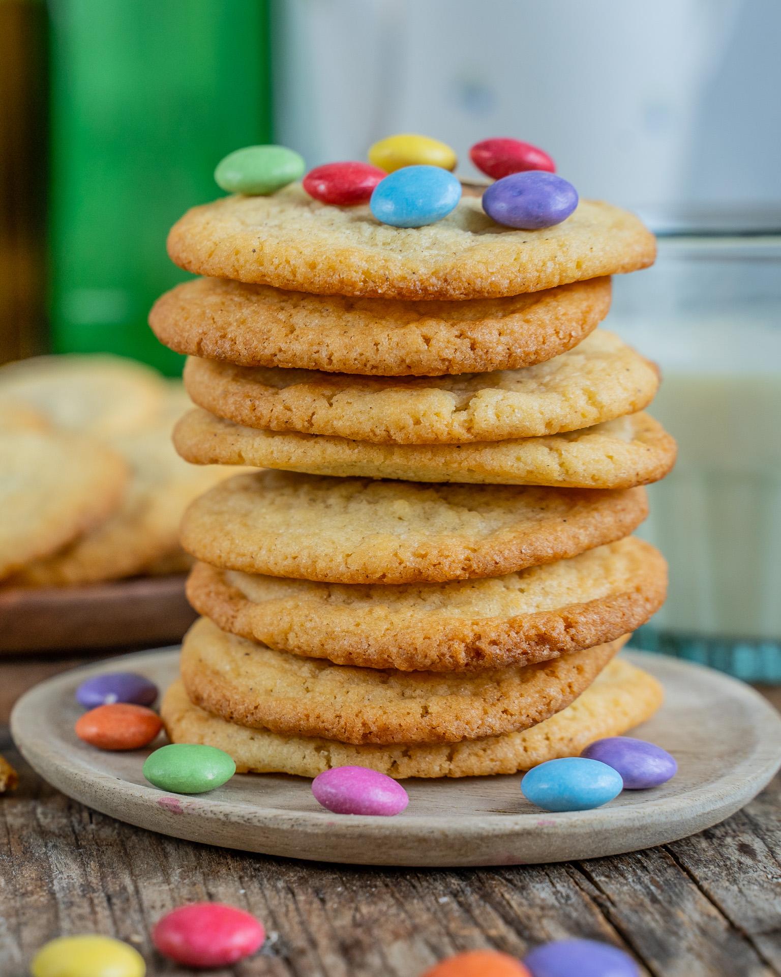 Einfache Cookies Rezept - fertig in 15 Minuten Mrs Flury