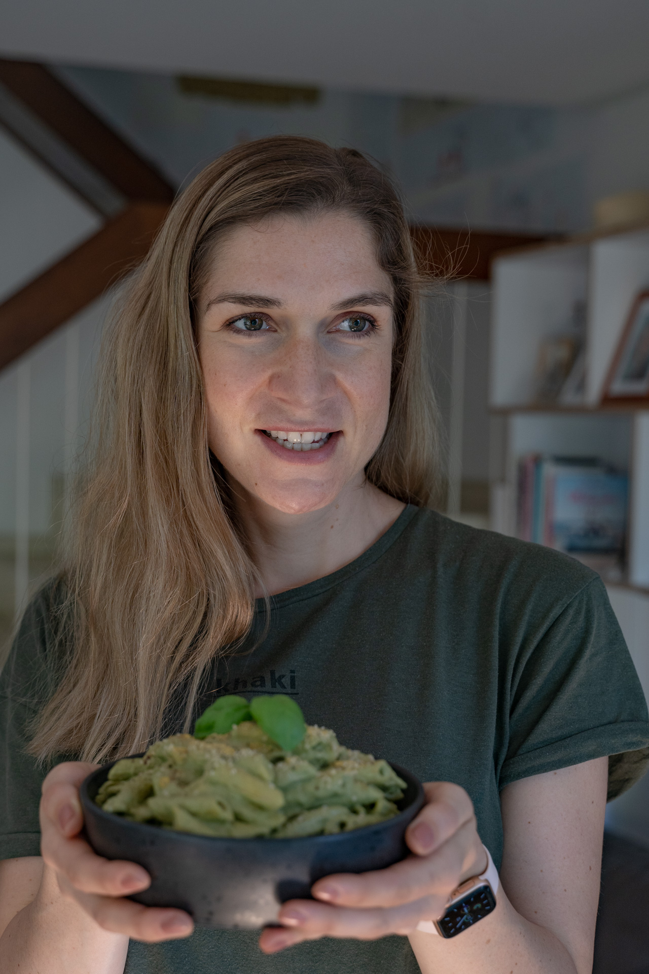 Superfood Pesto Pasta vegan & gesund Rezept Mrs Flury