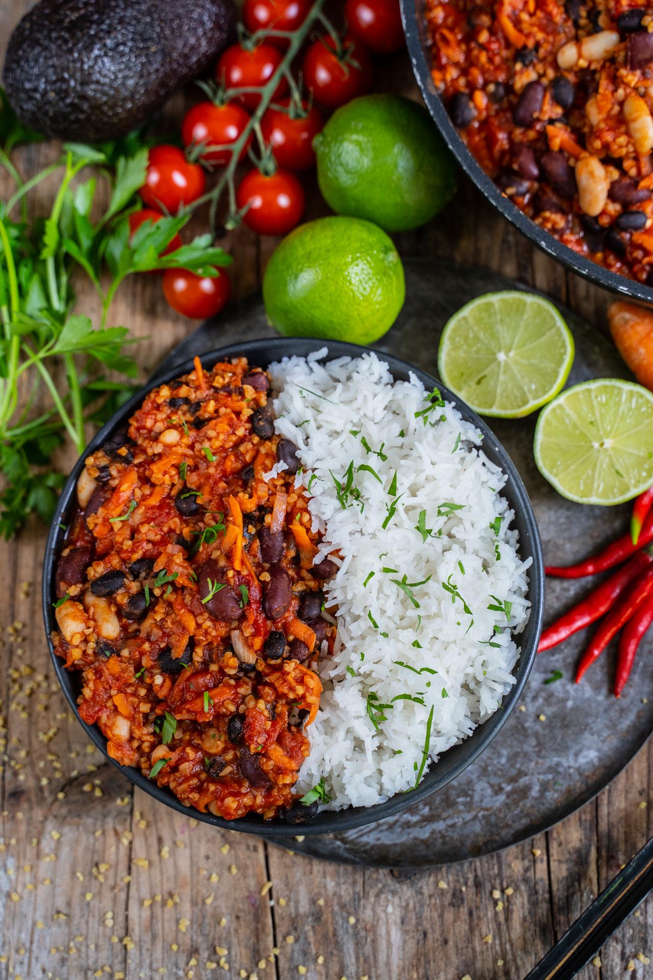 Chili sin Carne vegan Mrs Flury