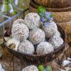 Raffaello Protein Balls gesund & vegan Mrs Flury