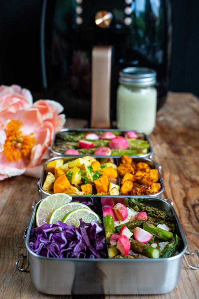 Gesundes 6 Zutaten Meal Prep für Familien - Mrs Flury