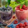 Slushie Eis - 2 Zutaten Rezept gesund & vegan Mrs Flury