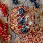 Schoko Protein Smoothie Bowl - Rezept ohne Banane Mrs Flury