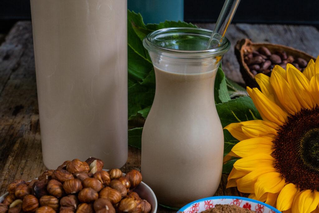 Nutella Mylk - Cremige Schoko Haselnussmilch Rezept Mrs Flury