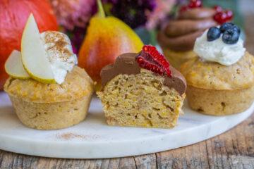 Vegane Kürbis Birnen Muffins Rezept Mrs Flury